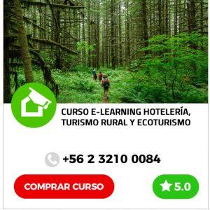 Curso E-learning de Hotelería, Turismo Rural y Ecoturismo